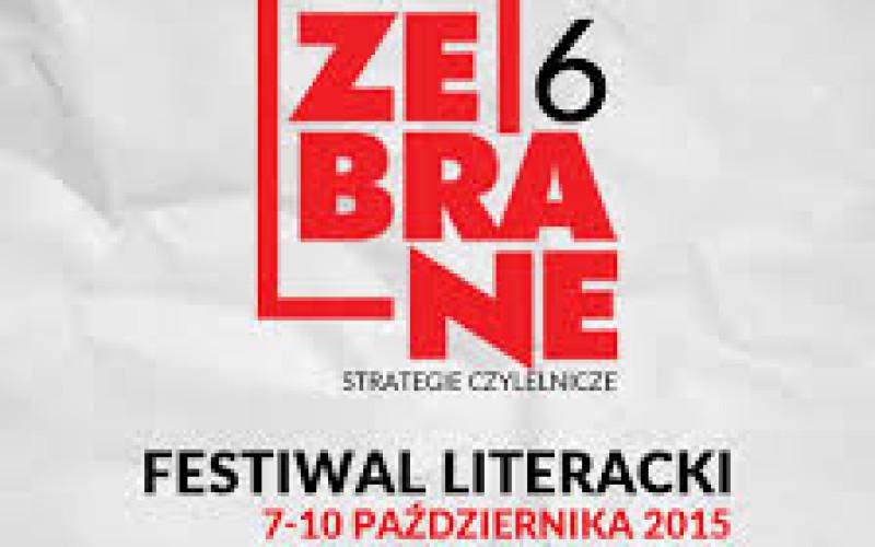 "Festiwal Literacki ""Zebrane″"