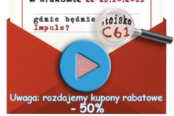 C61 – Impuls na Krakowskich Targach Książki! Sprawdź co przygotowaliśmy!