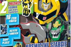 Magazyn TRANSFORMERS Robots in Disguise z prezentami: wystrzałowym Bumblebee  i kodami do gry już w Polsce!