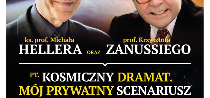 """Intelektualna uczta"". Tłumy na spotkaniu z ks. prof. Hellerem i prof. Zanussim"