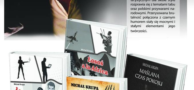 Promocja książki Michała Krupy na Targach Książki we Wrocławiu