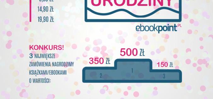 Super Promocja z okazji 4. urodzin Ebookpoint!
