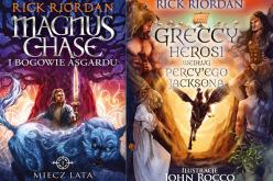 Książki Ricka Riordana  świetnym pomysłem na świąteczny prezent dla nastolatka