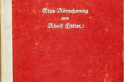 """""""Mein Kampf"""" na pierwszym miejscu listy bestsellerów """"Spiegla"""""""