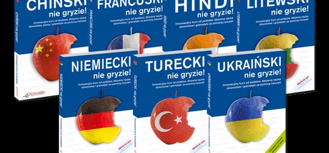 Wydawnictwo Edgard poleca: nauka języków obcych Nie gryzie!