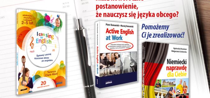 Masz noworoczne postanowienie, że nauczysz się języka obcego?