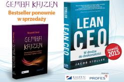 Gemba Kaizen – Bestseller ponownie w sprzedaży!