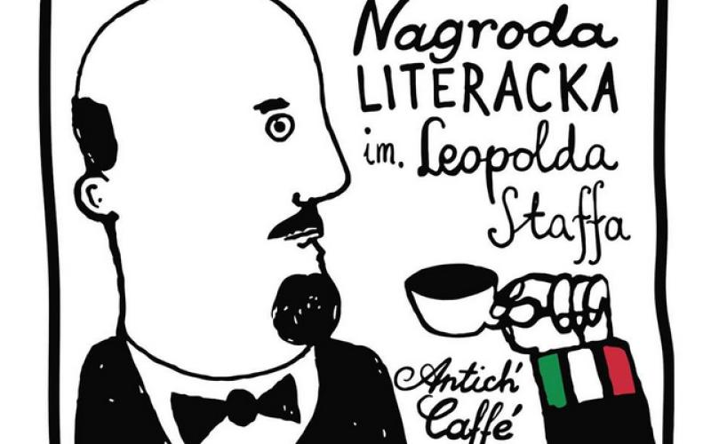 Zaproszenie na uroczystość przyznania Nagrody Literackiej im. Leopolda Staffa