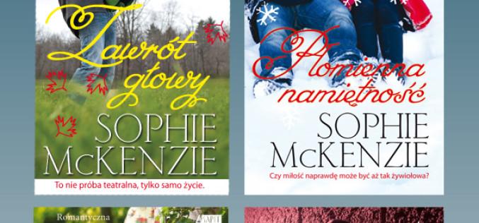Wydawnictwo Akapit Press poleca książki dla młodzieży Sophie McKenzie!