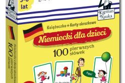 Nowość z serii Kapitana Nauki: Niemiecki dla dzieci 100 pierwszych słówek