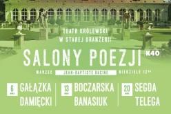 Plejada gwiazd na Salonach Poezji w Łazienkach Królewskich