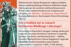 "Ogólnopolski konkurs biblioteczny ""Ale historia…"""