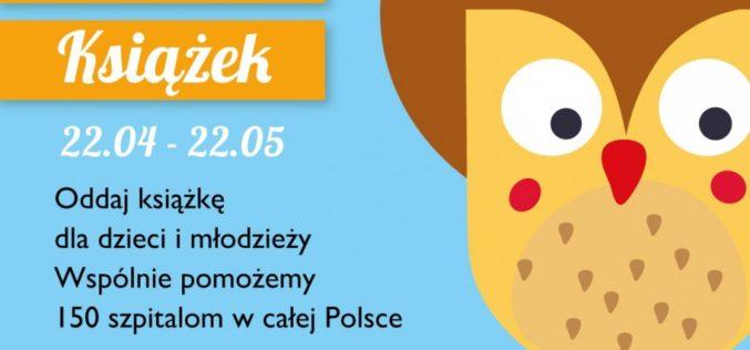II edycja Wielkiej Zbiórki Książek dla dzieci w szpitalach