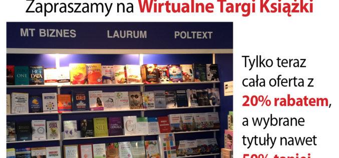 Zapraszamy na Wirtualne Targi Książki!!!