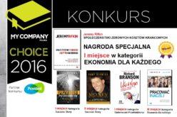 Studio EMKA – 5 książek nagrodzonych w konkursie MY COMPANY CHOICE