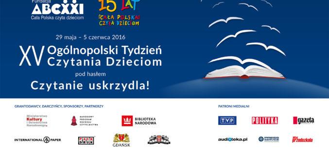 Inauguracja XV Ogólnopolskiego Tygodnia Czytania Dzieciom – Gdańsk