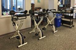 Rowery w bibliotece: promocja usług i zdrowego trybu życia