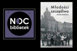 Promocja najnowszej książki Zdzisława Brałkowskiego podczas Grudziądzkiej Nocy Bibliotek