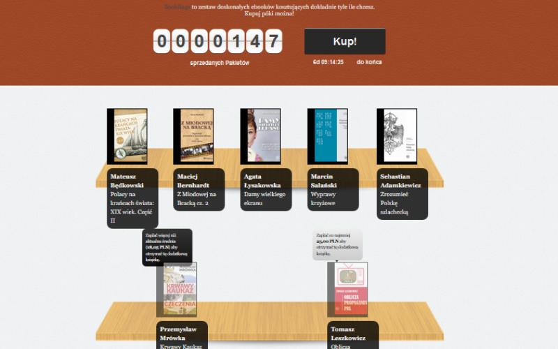 Quick Rage Historia – internauci sami ustalają ceny e-booków historycznych, które kupują