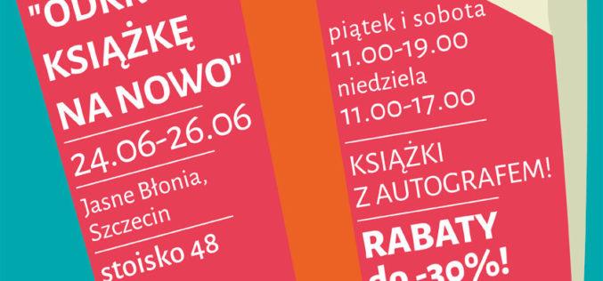 Akapit Press na plenerze czytelniczym w Szczecinie!