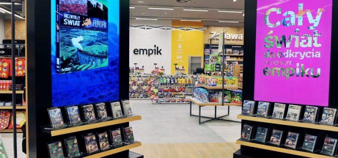 Empik planuje otwierać kilkanaście salonów nowego, mniejszego formatu rocznie