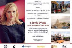 Zapraszamy na spotkanie z Sonią Dragą