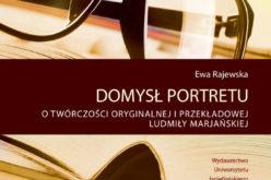 """Ewa Rajewska, """"Domysł portretu"""""""