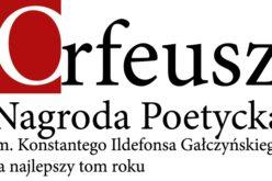 Piotr Mitzer laureatem Nagrody im. K.I. Gałczyńskiego Orfeusz