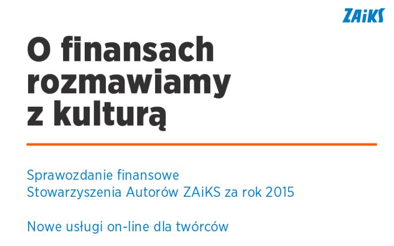 O finansach rozmawiamy z kulturą