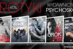 Erotyki wydawnictwa Psychoskok na Nexto taniej o 50%