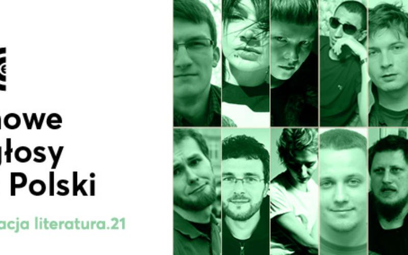 Stacja Literatura 21. Jedenastu nowych poetów z Polski