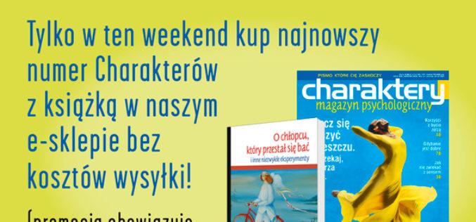 Weekendowa promocja w Charakterach!