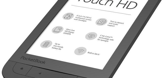 PocketBook Touch HD –  wreszcie pierwszy czytnik PB z ekranem 300 ppi
