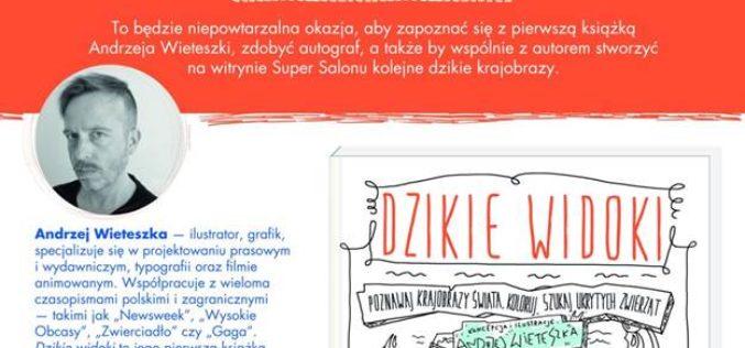 Spotkanie autorskie z Andrzejem Wieteszką