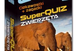 SuperQuiz Zwierzęta – nowość w serii Kapitan Nauka