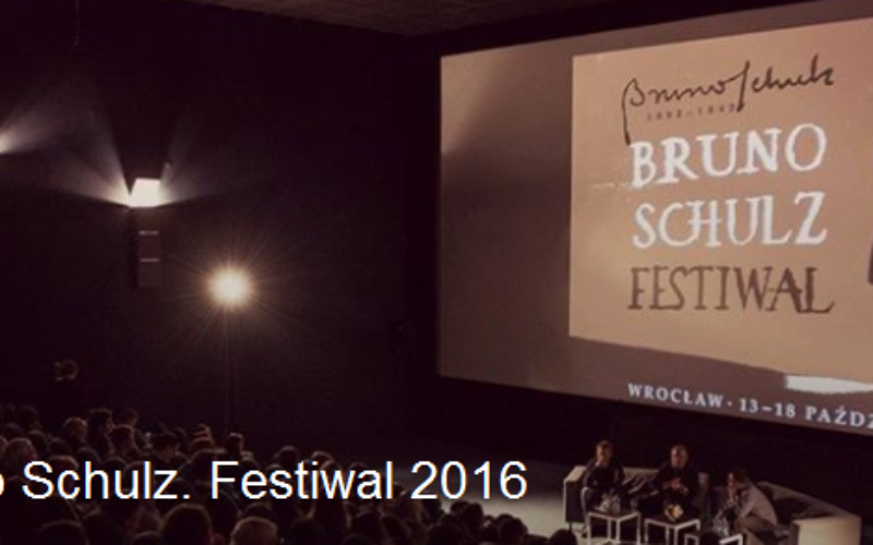 Znana jest już data piątej edycji Bruno Schulz. Festiwal