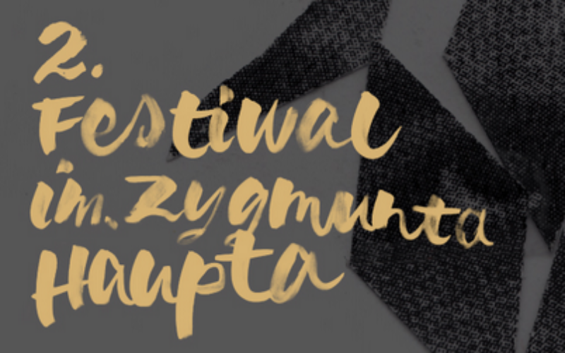 Za dwa tygodnie rusza 2. edycja Festiwalu im. Zygmunta Haupta
