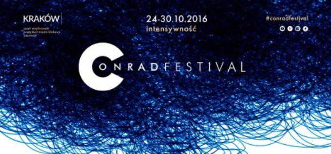 Intensywny tydzień z literaturą – znamy program Festiwalu Conrada