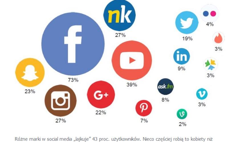 Polacy w social media chętnie szukają inspiracji zakupowych i dzielą się opiniami o markach