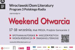 Już w sobotę – wielkie otwarcie Wrocławskiego Domu Literatury