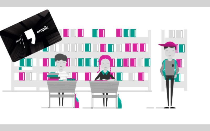 Empik wspiera biblioteki szkolne