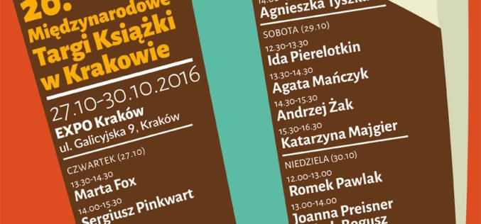 Akapit Press na Międzynarodowych Targach Książki w Krakowie