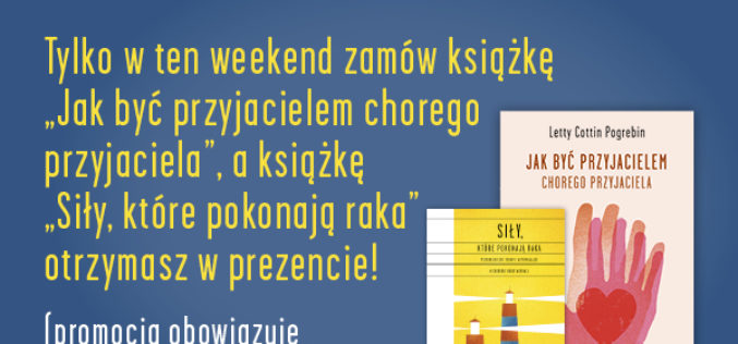 """Weekendowa promocja WYDAWNICTWA """"CHARAKTERY""""!"""