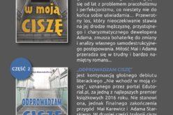 Trylogia ciszy Alicji Masłowskiej-Burnos