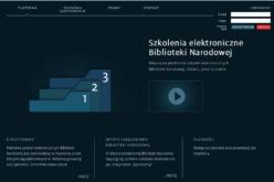 Platforma szkoleń elektronicznych Biblioteki Narodowej