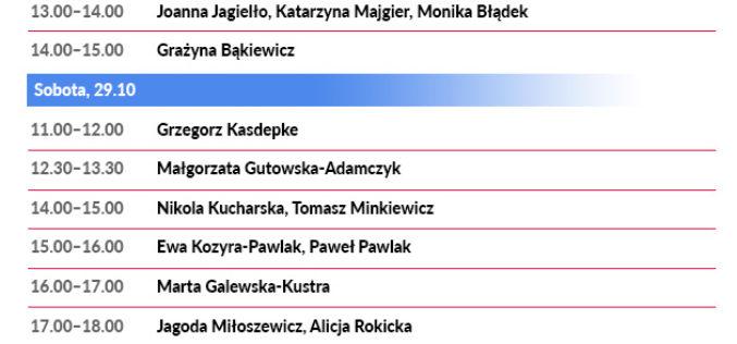 Wydawnictwo Nasza Księgarnia podczas 20. Międzynarodowych Targów Książki w Krakowie