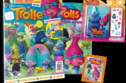 Pokochaj TROLLE! Egmont wydaje magazyn i książki o przeuroczych bohaterach dziecięcej wyobraźni