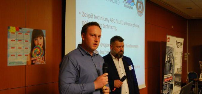 ABC/Allied Pressroom Products Europe na  konferencji poświęconej nowym technologiom poligraficznym
