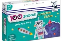Rozwijająca rozrywka dla przedszkolaków w serii Kapitan Nauka – 100 zabaw z robotem Eliotem