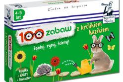 Nowość dla przedszkolaków w serii Kapitan Nauka – 100 zabaw z królikiem Kazikiem